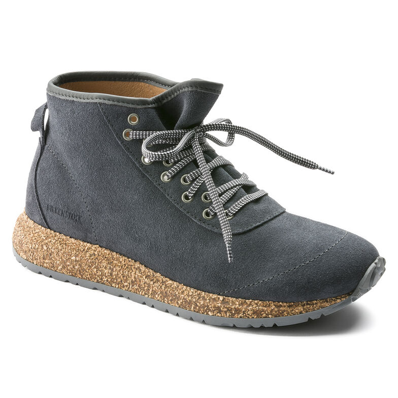 Atlin Suede Leather Graphite