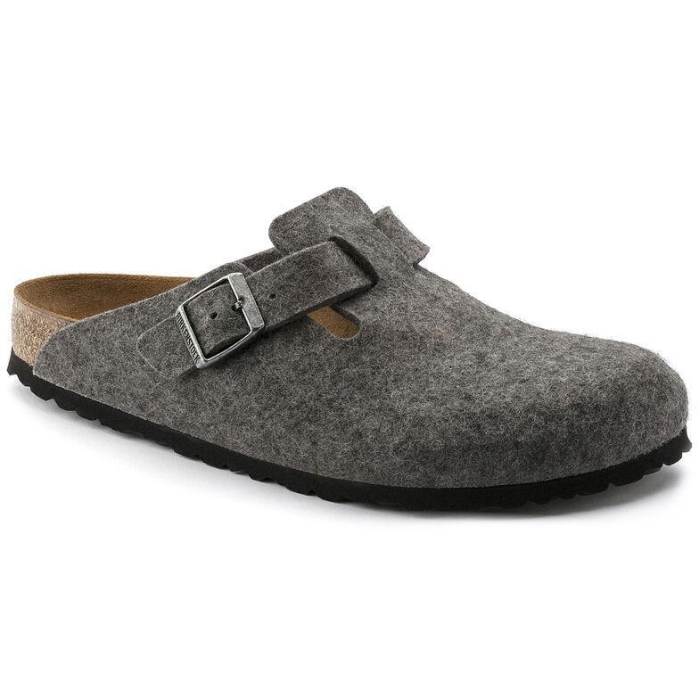 Boston Wool Felt Light Gray
