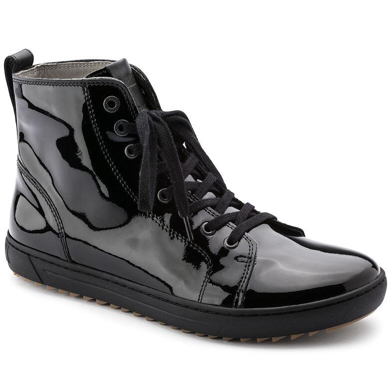 Bartlett Embossed Leather Patent Black