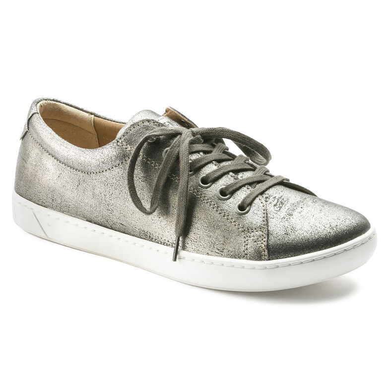 Arran Natural Leather Silver