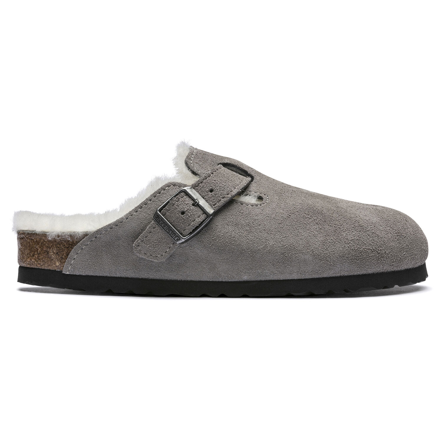 Boston Shearling Suede Leather