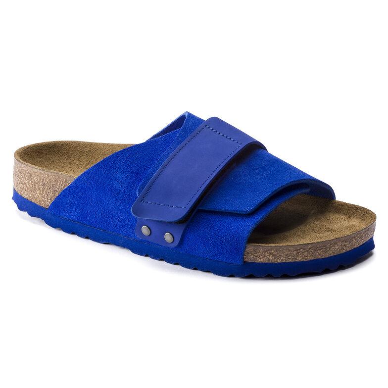 Kyoto Nubuck/Suede Leather Ultra Blue