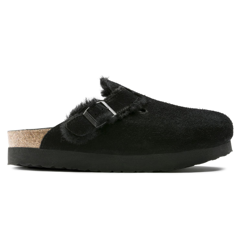 Boston Suede Leather/Fur