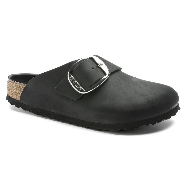 Basel Oiled Leather Black