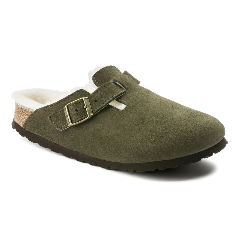 Boston Suede Leather Forest