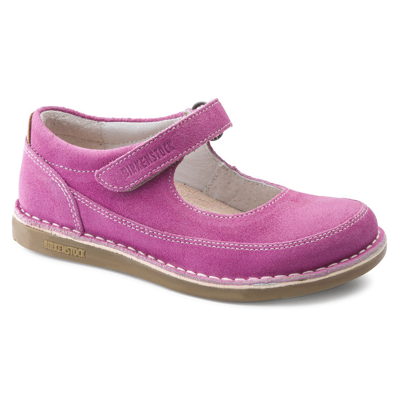 June Suede Leather Pink