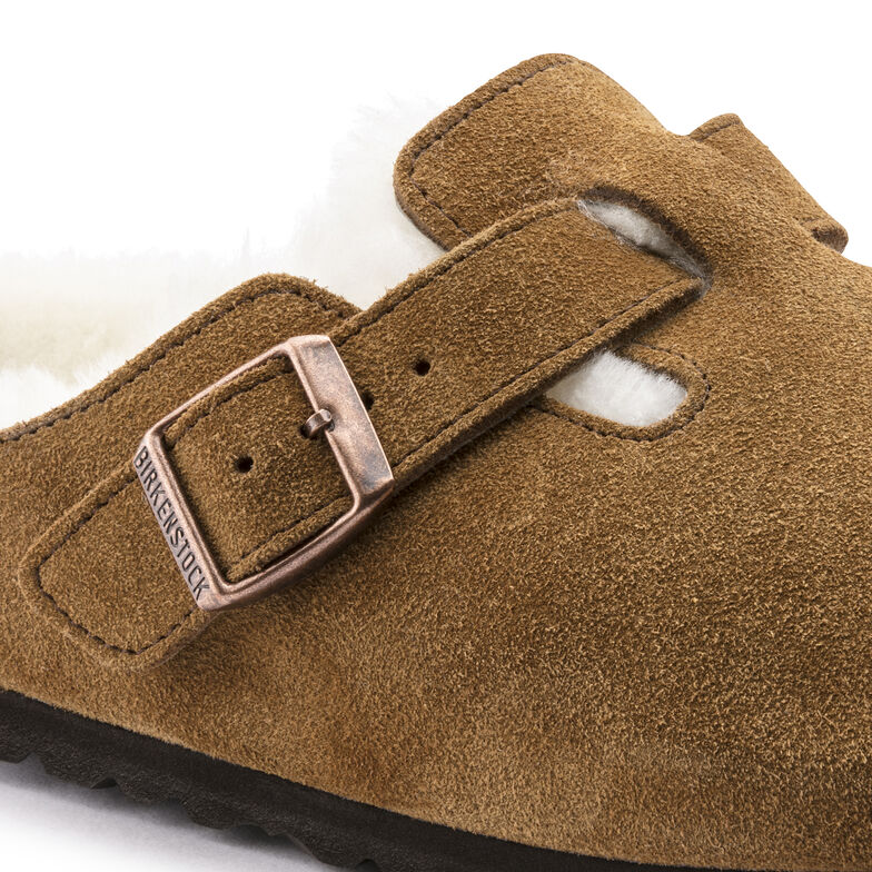 Boston Suede Leather Mink