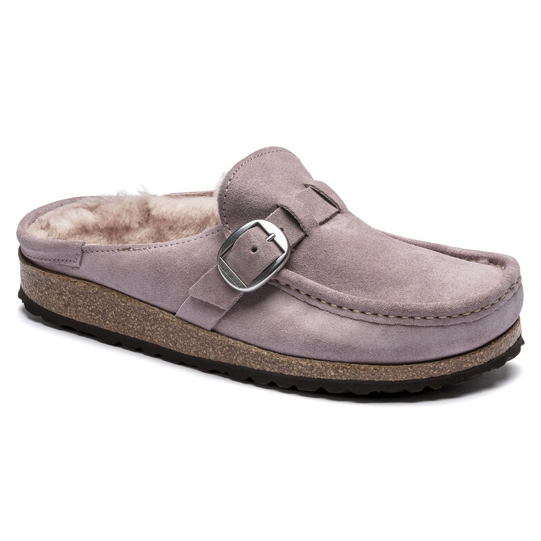 Buckley Suede Leather Lavender Blush