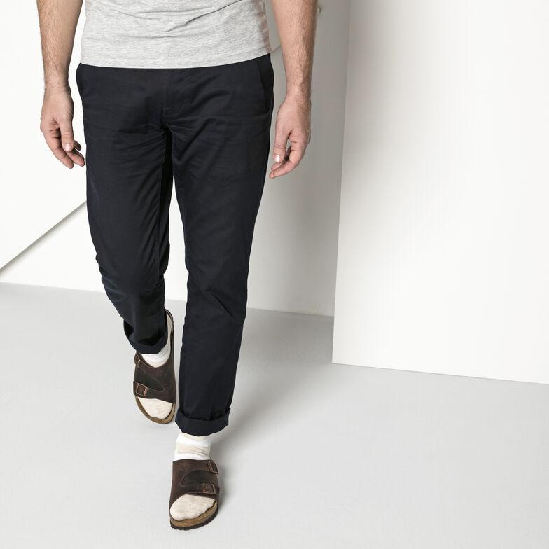 Slub Cotton/Polyamid/Elastane Beige White