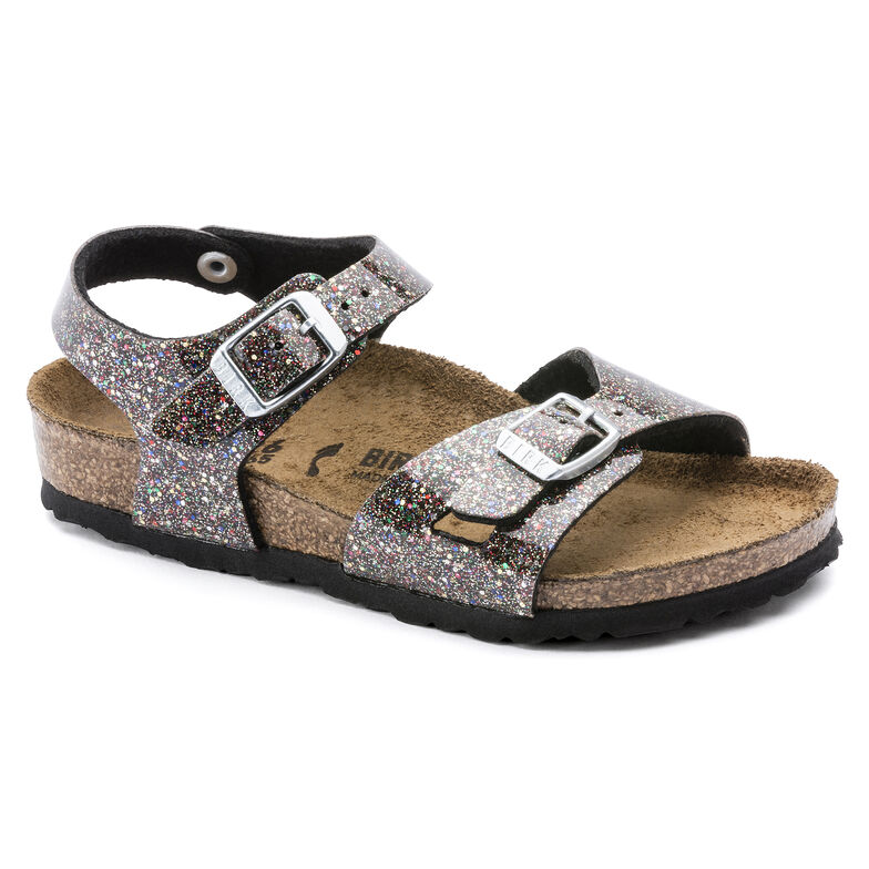 Rio Kids Birko-Flor Cosmic Sparkle Black Multi