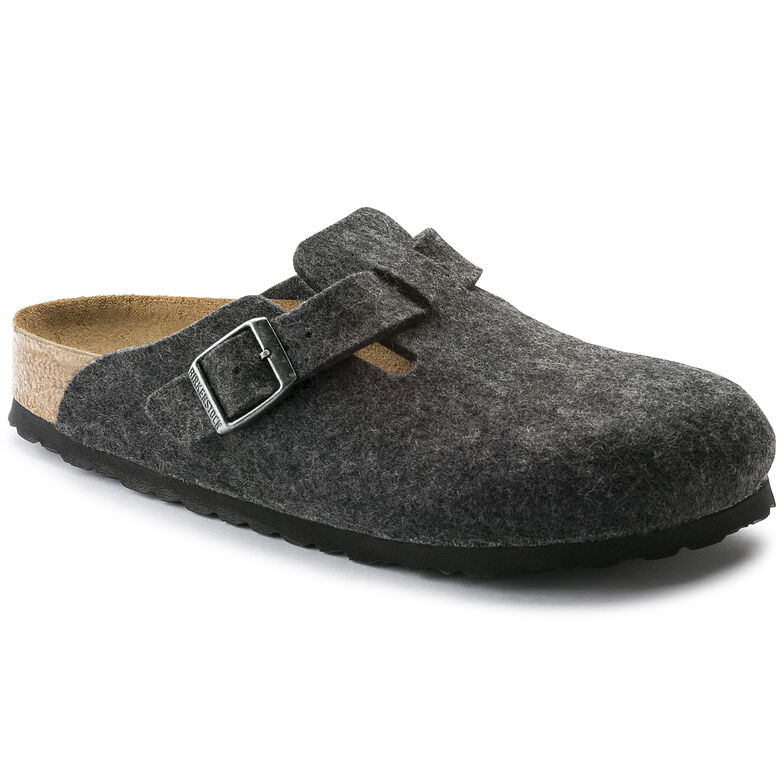 Boston Wool Felt Anthracite