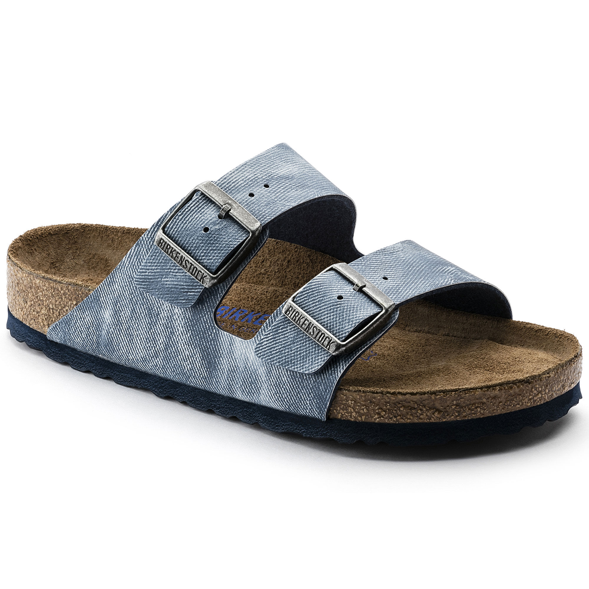 Arizona Birko Flor Soft Footbed Jeans Washed Out Blue