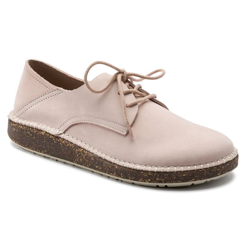 Gary Suede Leather Dusty Rose