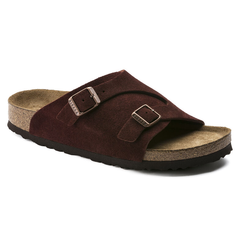 Zürich Suede Leather Soft Footbed Port