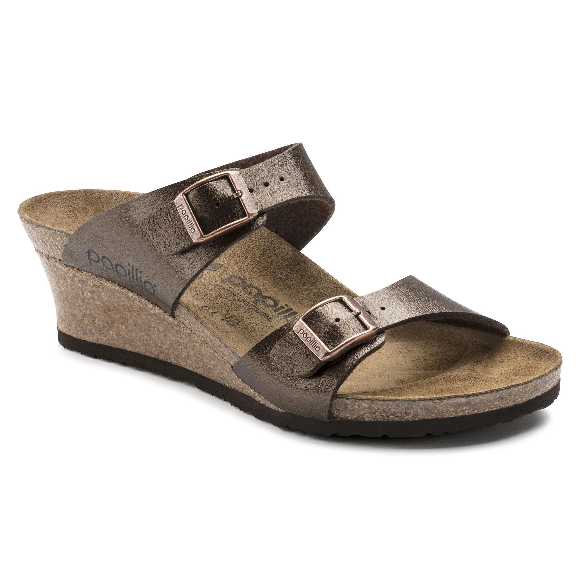 Birkenstock Papillo Dorothy Double Strap Wedge Sandal