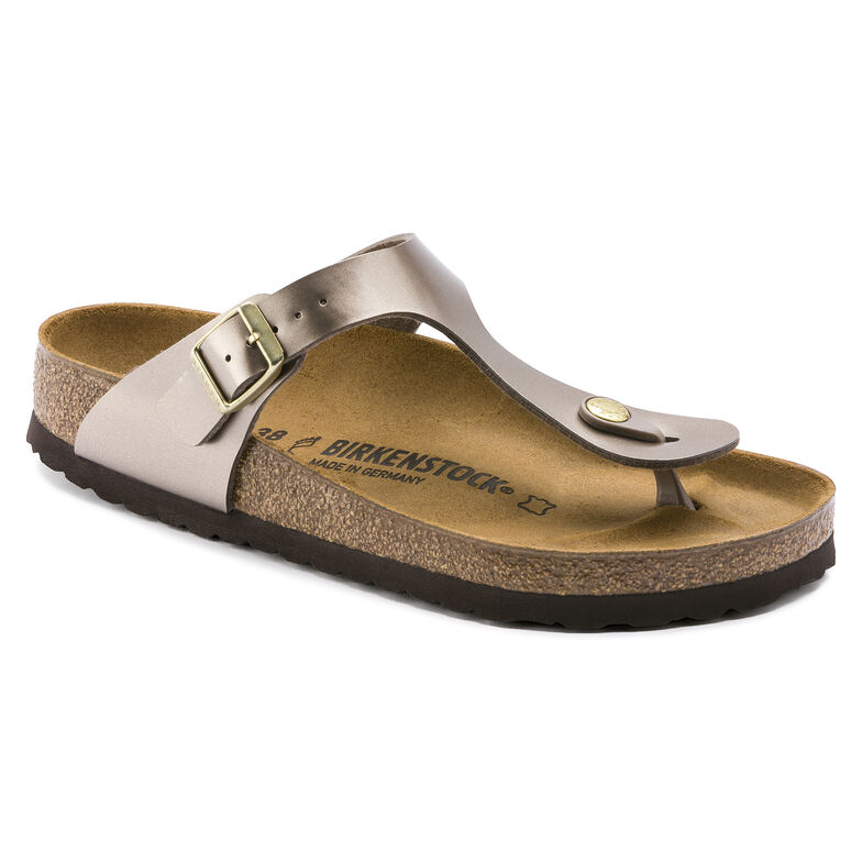 Gizeh Birko-Flor Electric Metallic Taupe