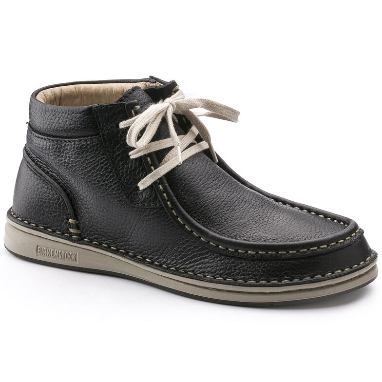 Pasadena Embossed Natural Leather Black