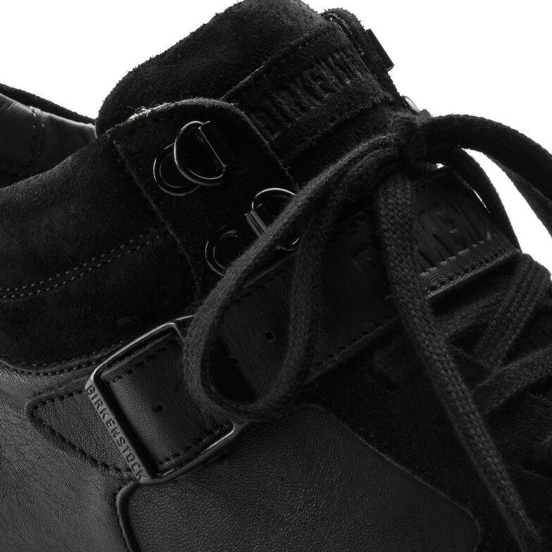 Ranga Suede Leather Black