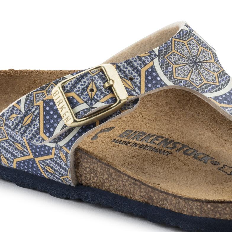 Gizeh Birko-Flor Oriental Tiles Blue