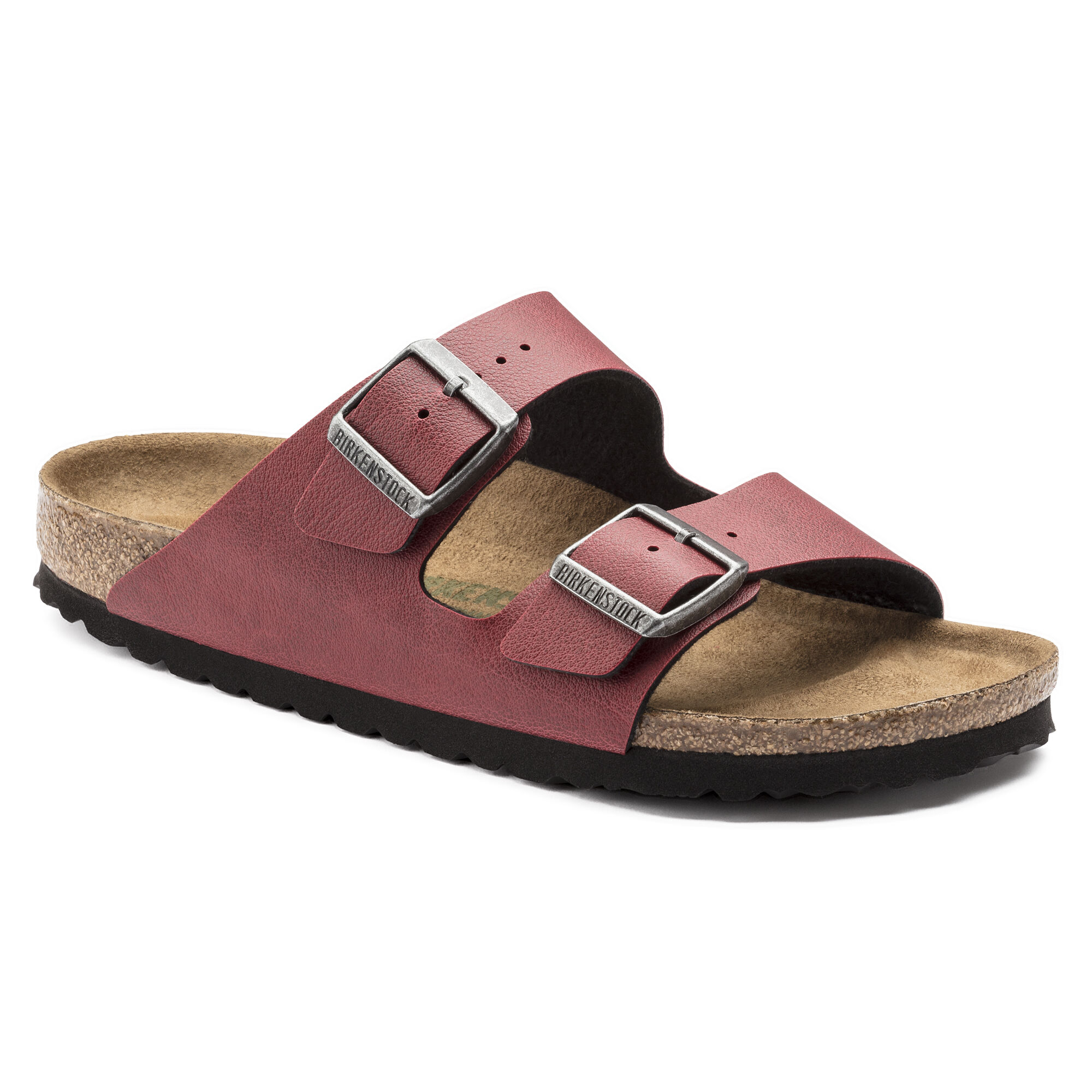 Birkenstock Arizona Vegan Bordeaux 1009501 38 Bordeaux