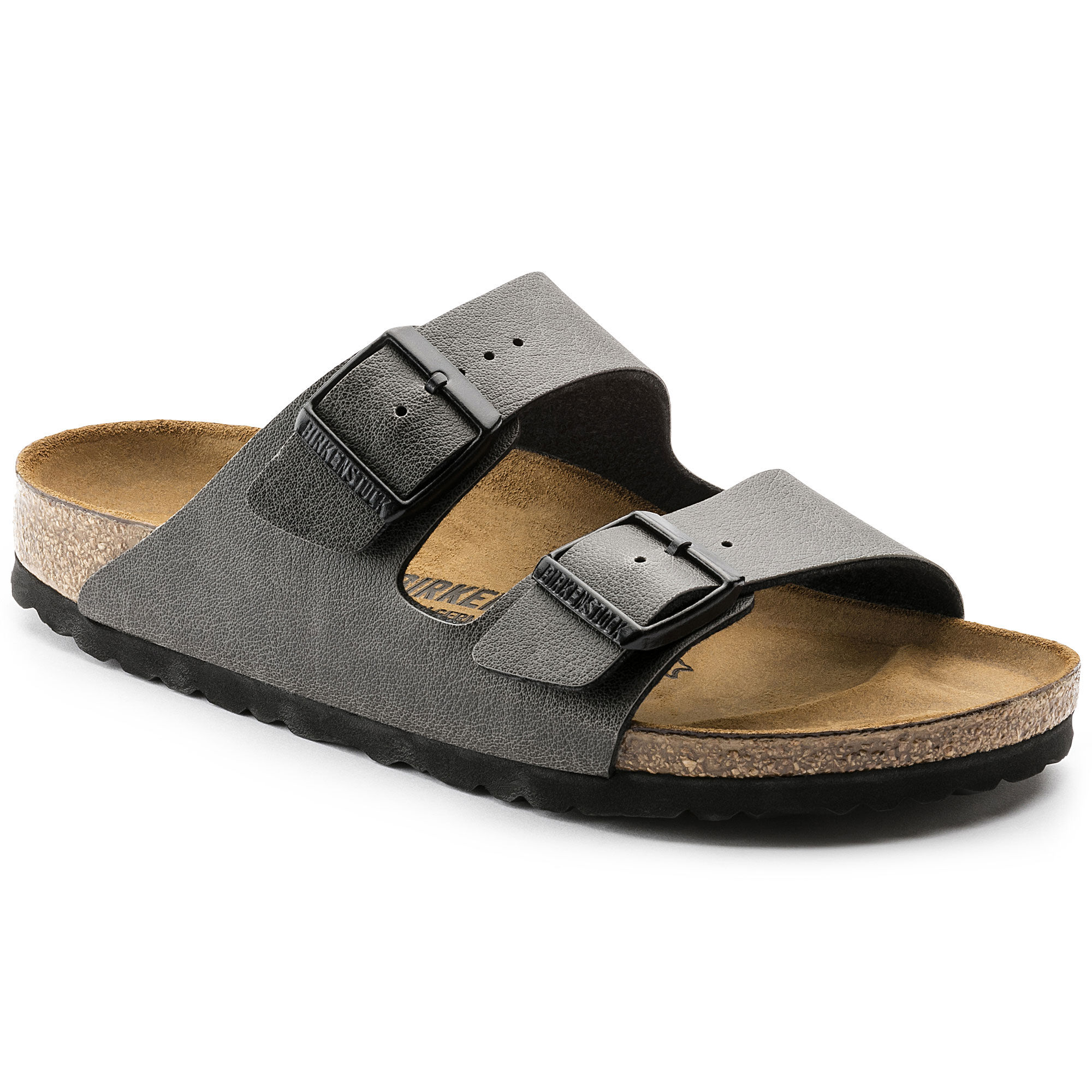 Birkenstock Arizona Anthracite Sandalen Damen 41 Anthracite