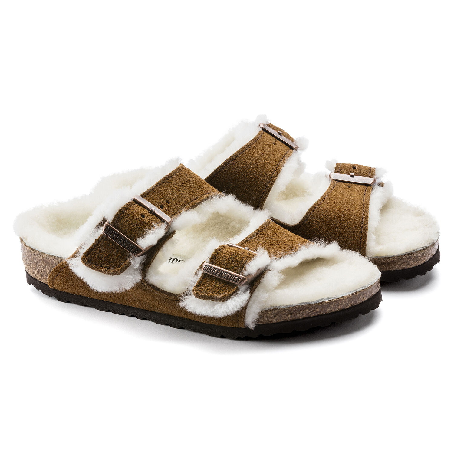 Arizona Shearling Kids Suede Leather