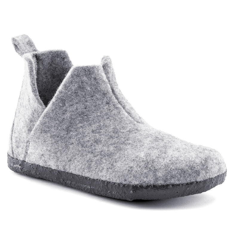 Andermatt  Wool Felt Light Gray