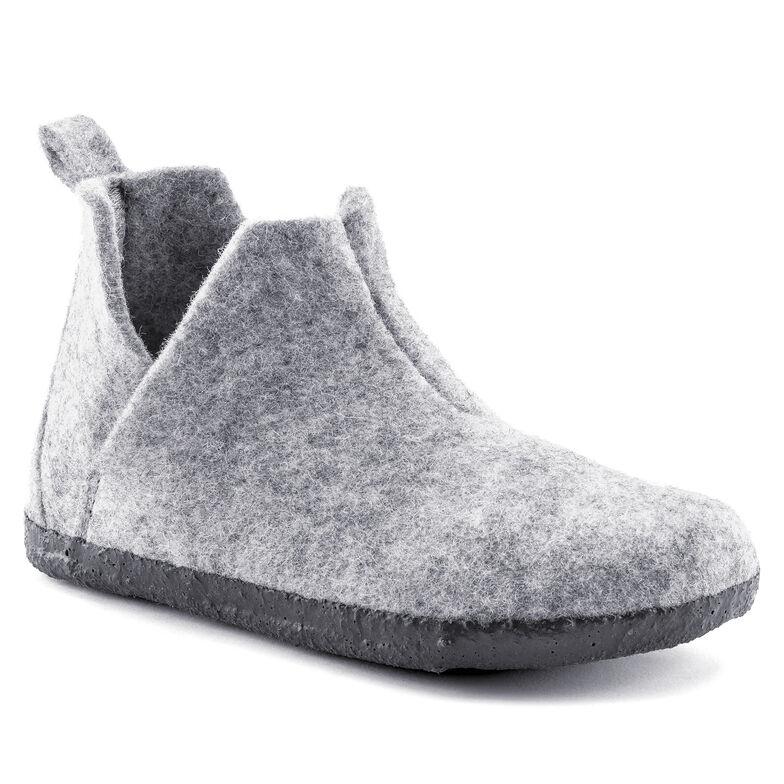 Andermatt  Wool Felt Light Gray