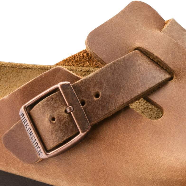 Boston Oiled Leather Antique Brown