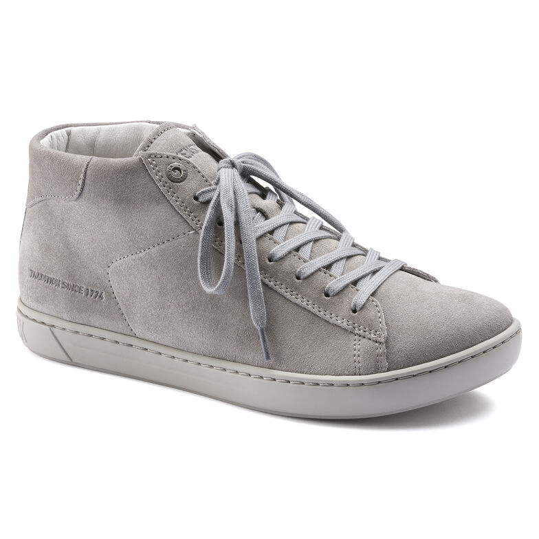 Suede Leather Gray