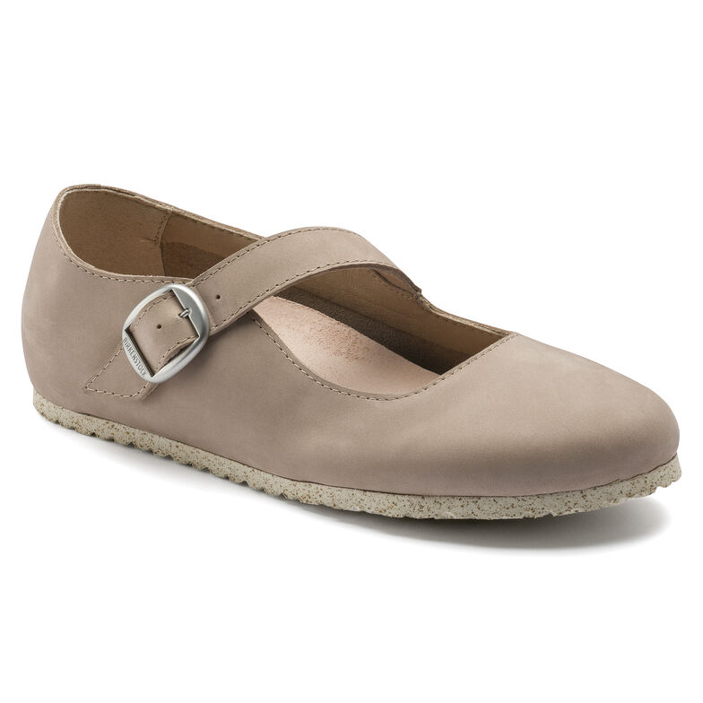 Tracy Nubuck Leather Sand