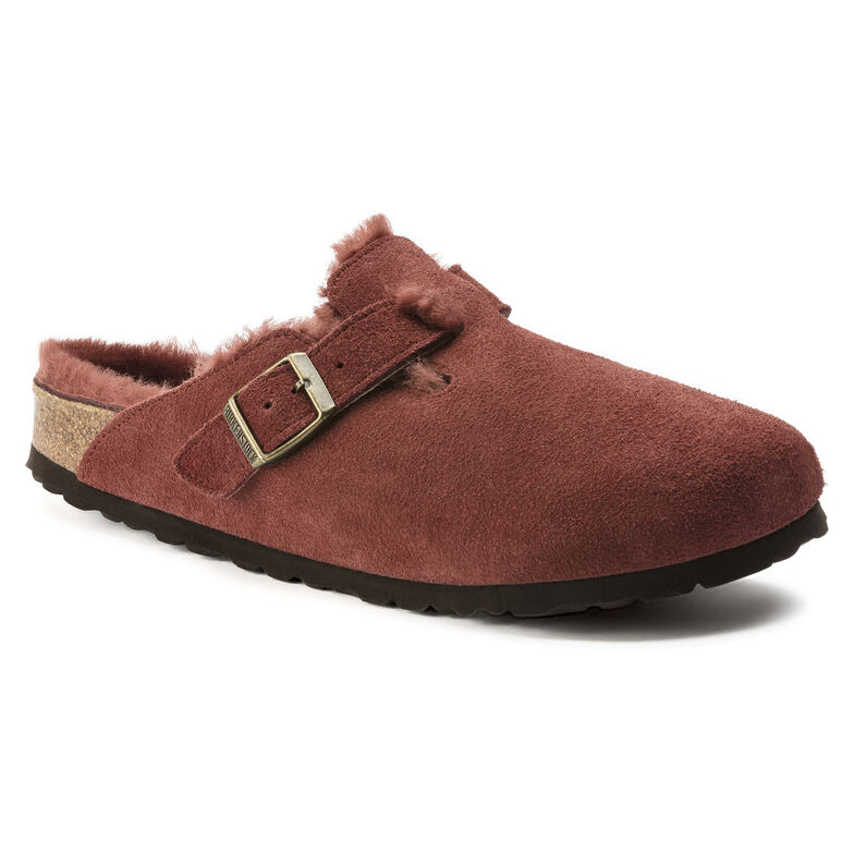 Boston Suede Leather Antique Port