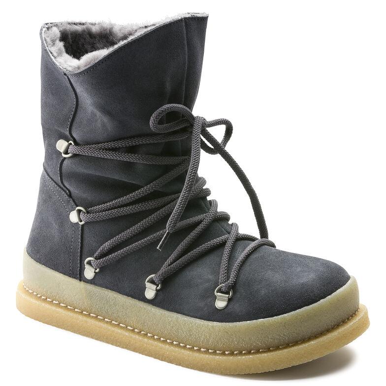 Masi Suede Leather Graphite