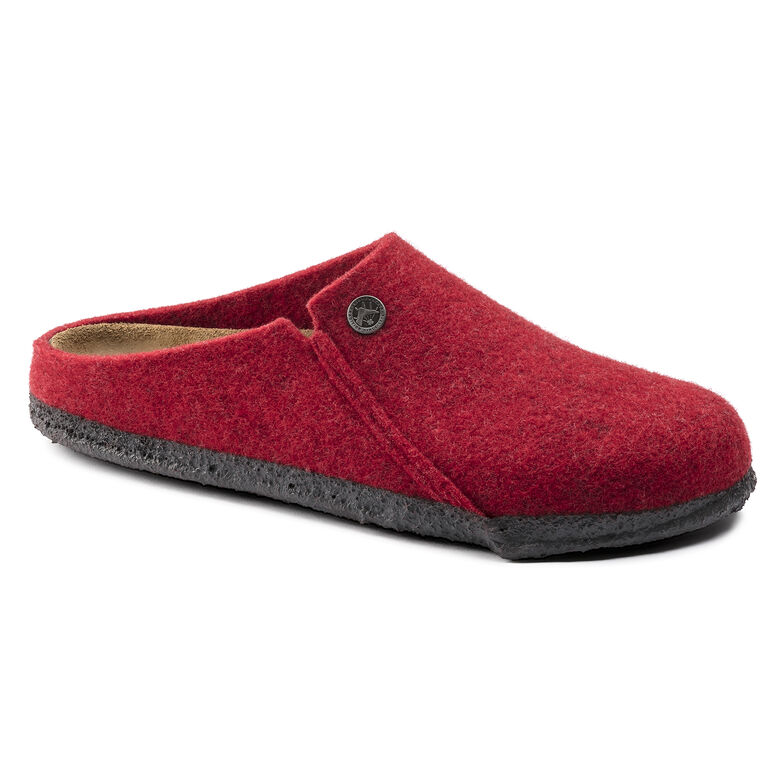 Zermatt Wool Felt Red