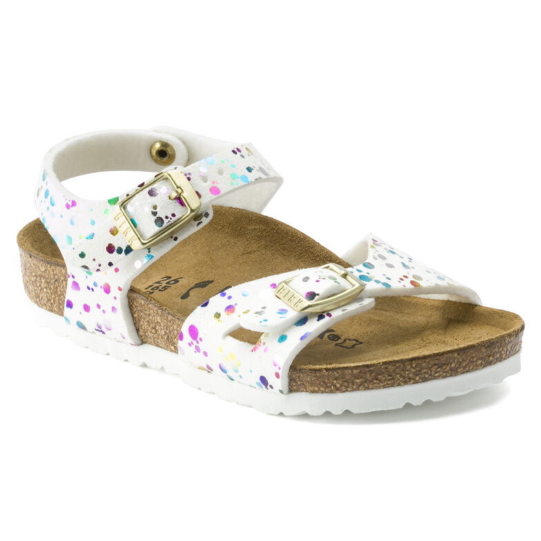 Rio Kids Synthetics Confetti White