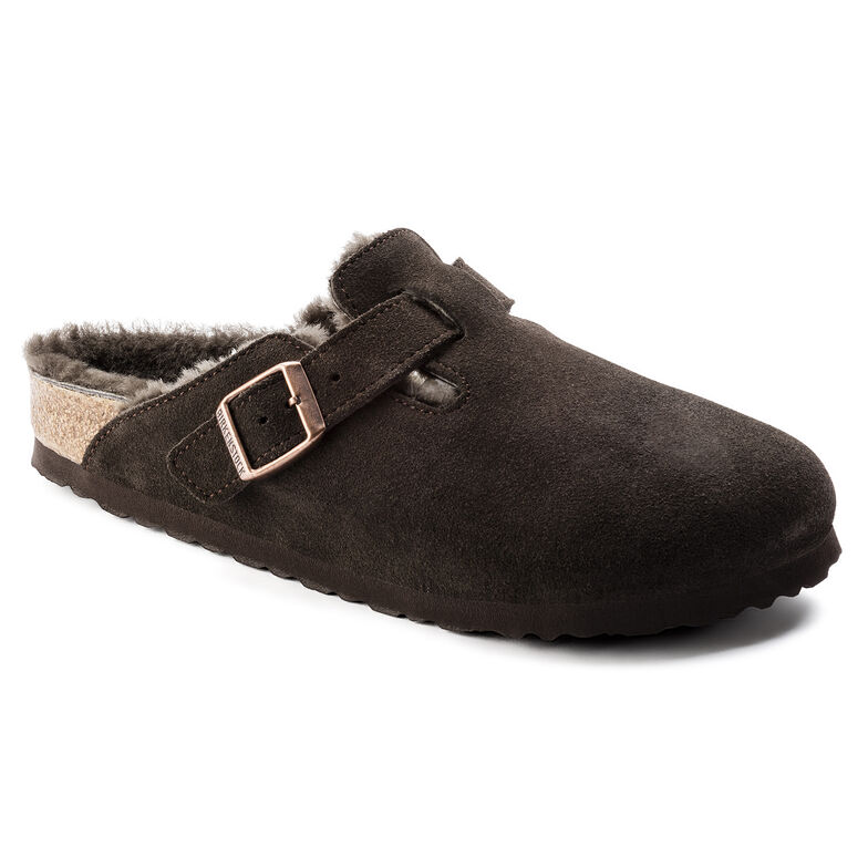 Boston Suede Leather Mocha