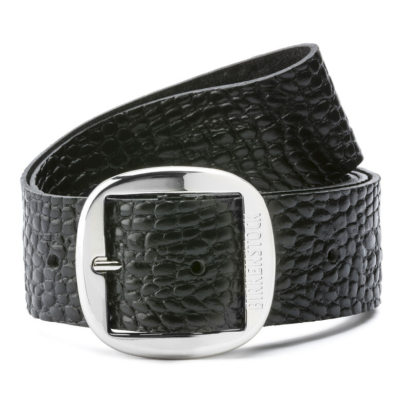 Knoxville Embossed Leather Gator Anthracite