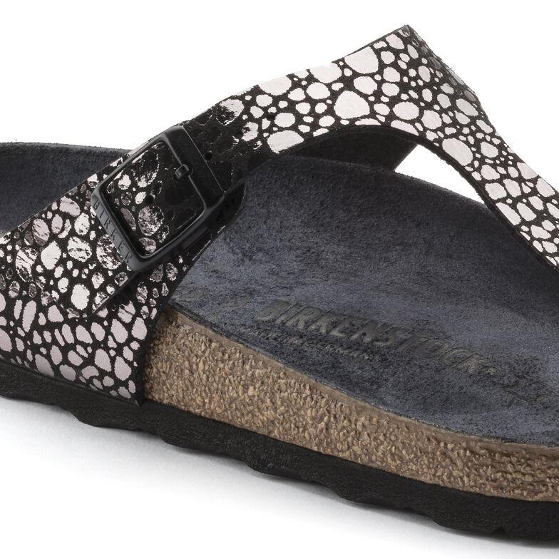 Gizeh Birko-Flor Metallic Stones Black