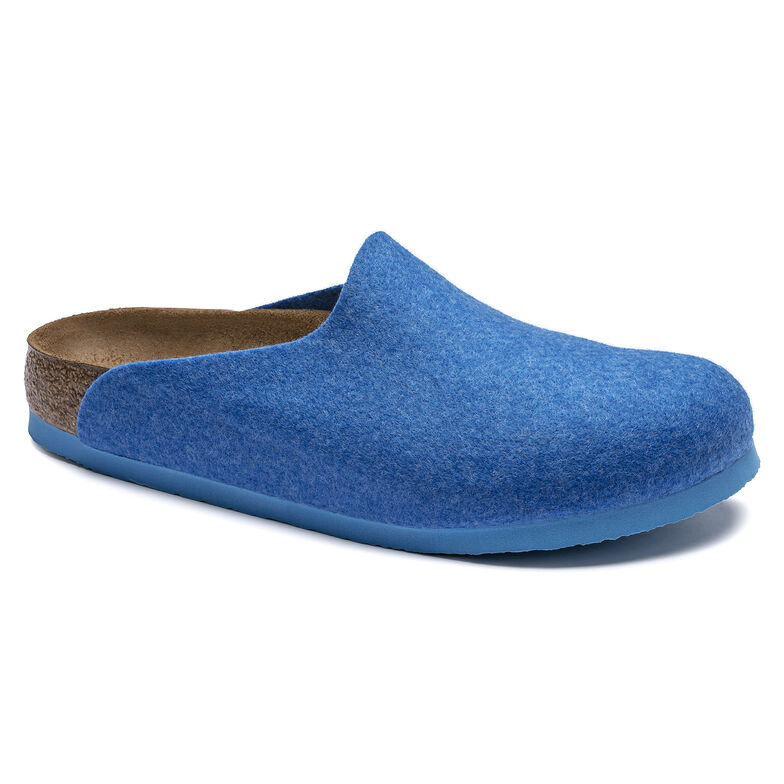Amsterdam Vegan Wool Felt Blue
