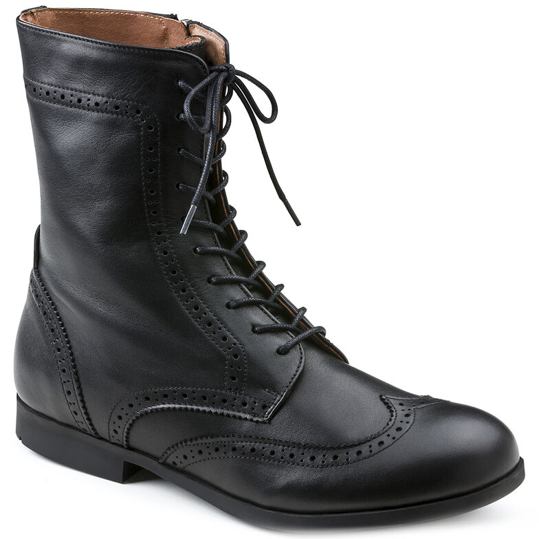 Laramie Natural Leather Black1