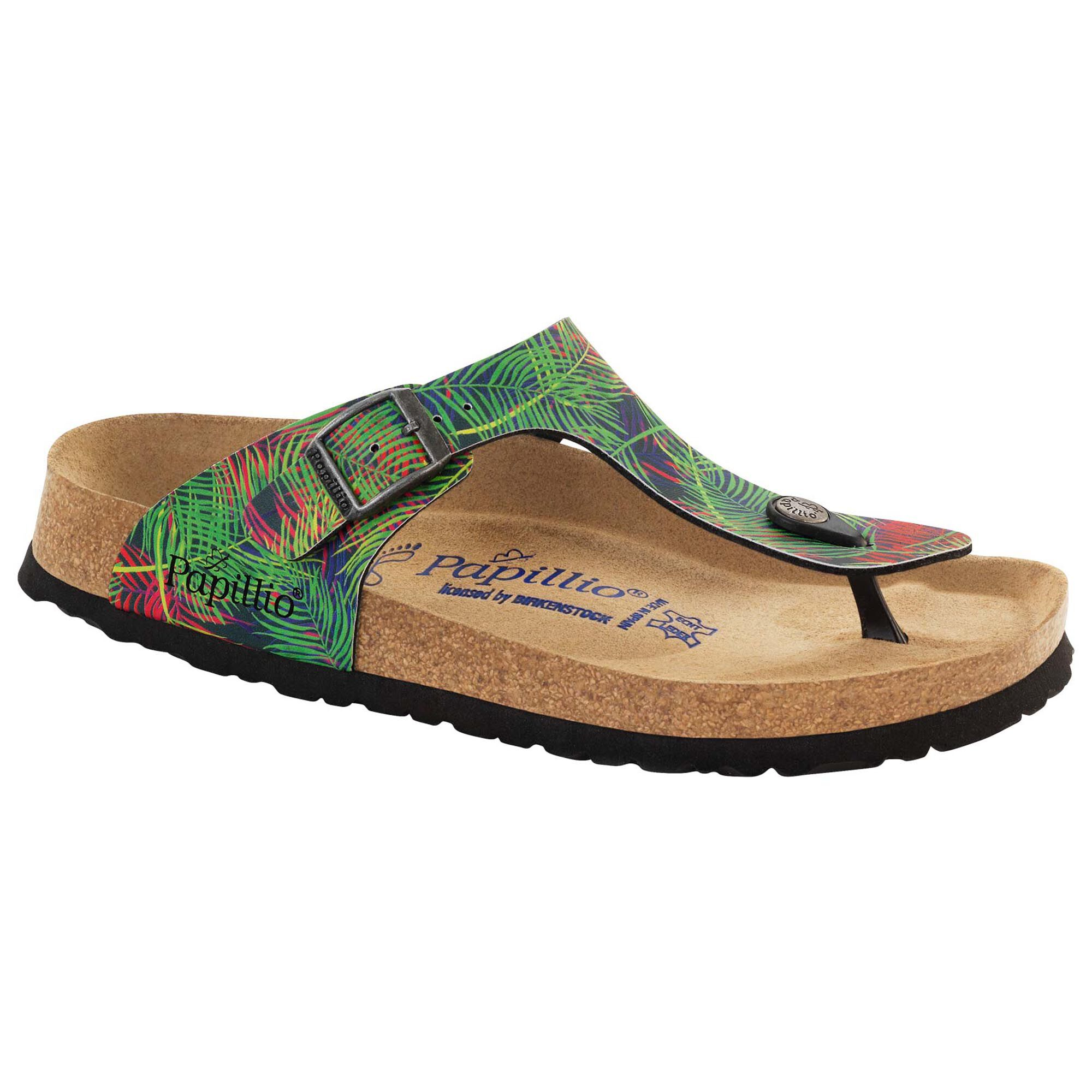 Gizeh Birko Flor Tropical Leaf Multicolor