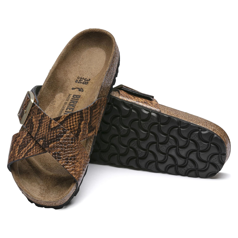 Siena Embossed Natural Leather