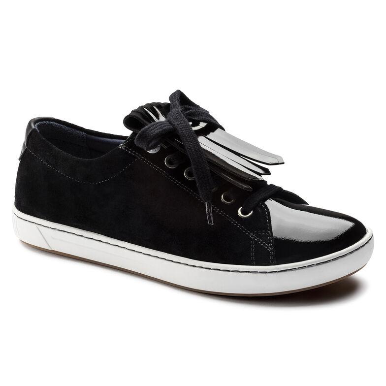 Arran Mixed Leather Black