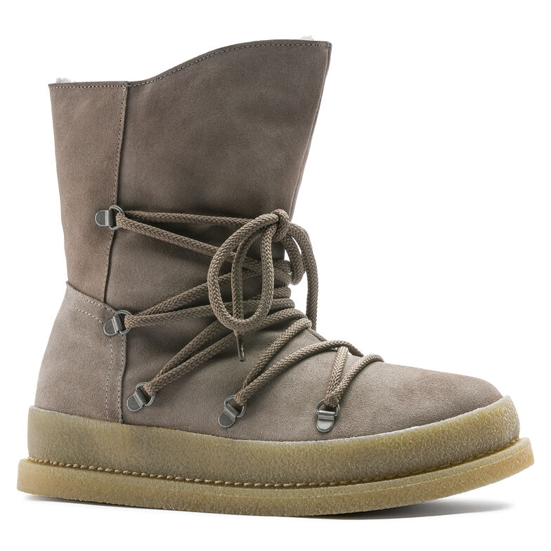 Masi Suede Leather Taupe