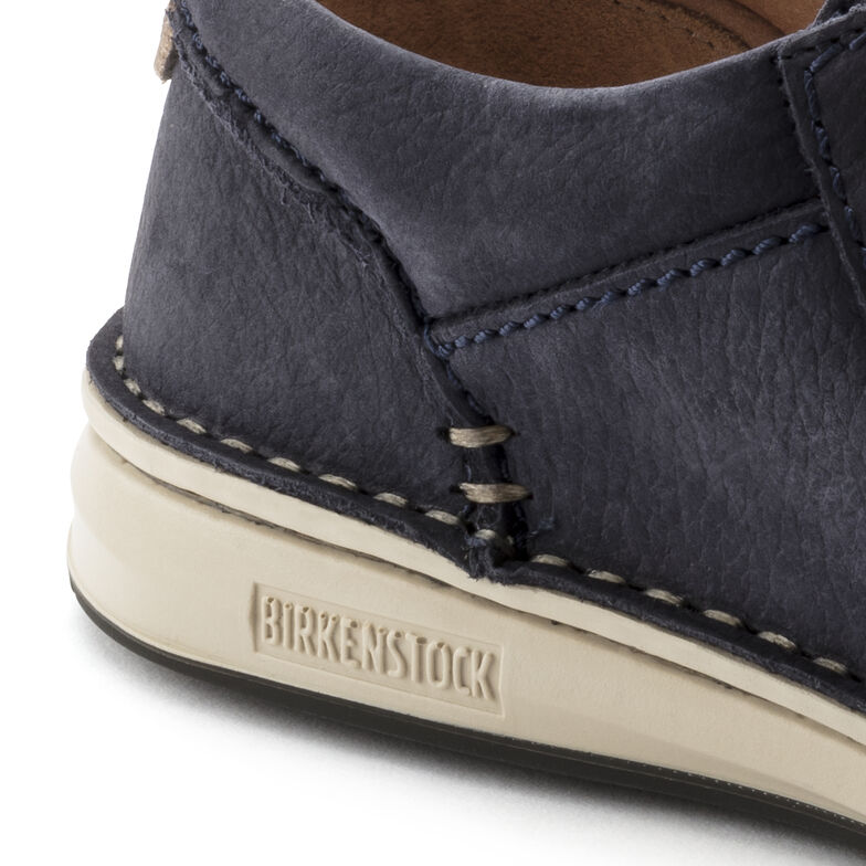 Pasadena Nubuck Leather Navy