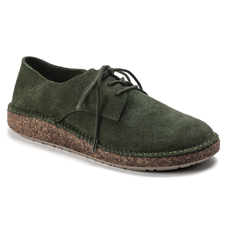 Gary Suede Leather Green