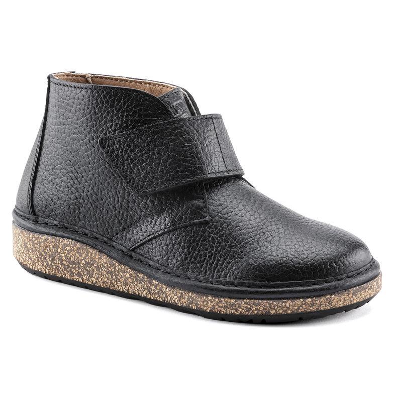 Milton Kids Nubuck Leather Black