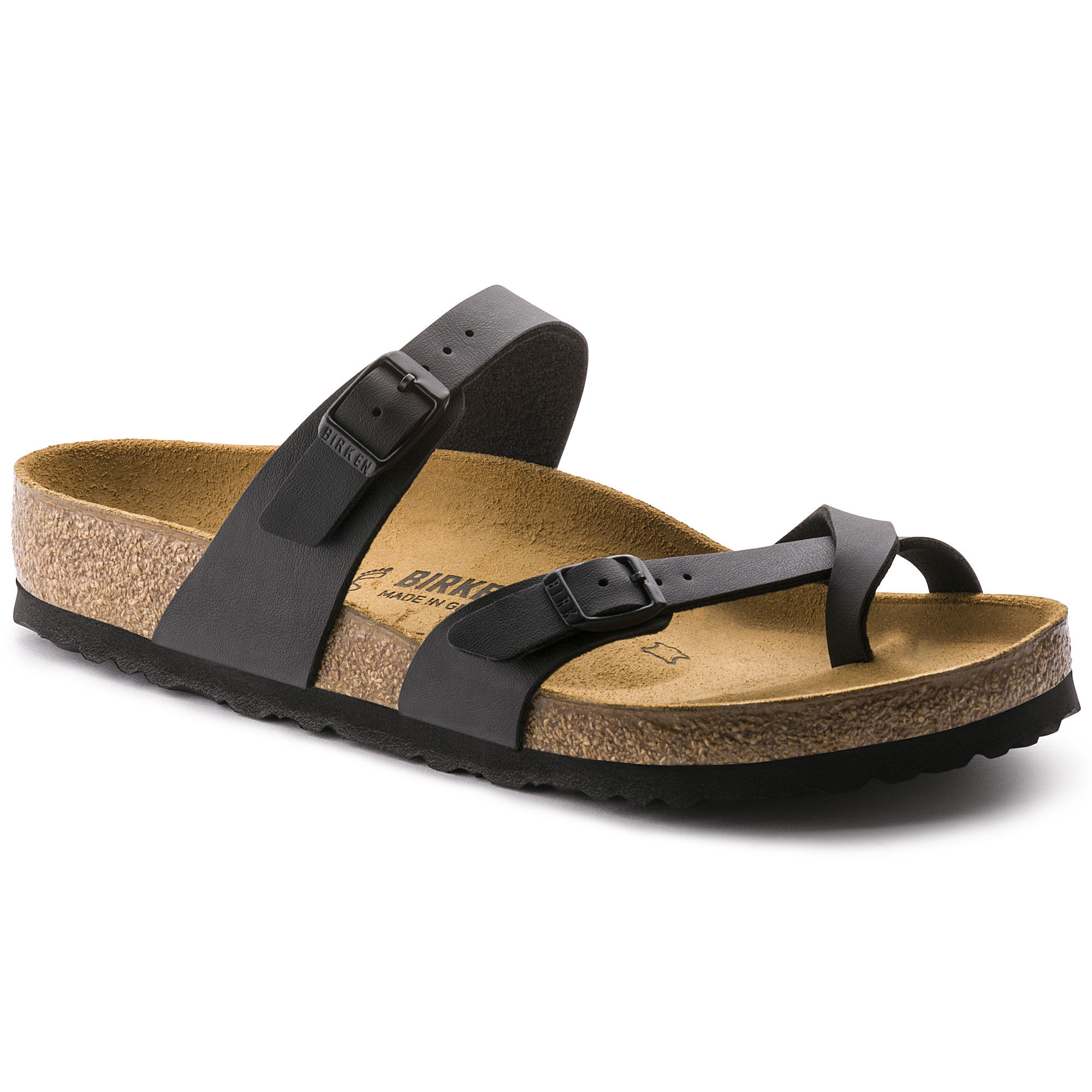 Birkenstock Mayari Sandals  Black  Mens Sandals  Flip Flops
