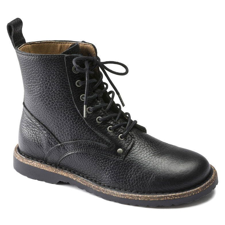 Bryson  Natural Leather Black