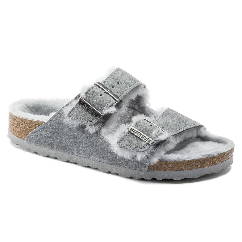Arizona Suede Leather Gray